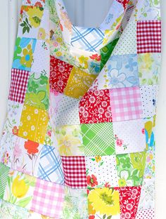 Red Pepper Quilts Patchwork curtains