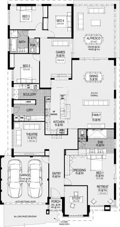 House Layout Sims Floor Plans 25 New Ideas House Plans Mansion, 4 Bedroom House Plans, Family House Plans, Best House Plans, Dream House Plans, Modern House Plans, Small House Plans, House Floor Plans, Home Design Floor Plans