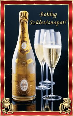Happy Birthday - champagne - wine - cocktails Plus Happy Birthday, Birthday Greetings, Birthday Wishes, 123 Greetings, Birthday Blessings, Birthday Quotes, Roederer Champagne, Cristal Champagne, Champagne France