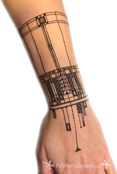 Pin by fay leff on tattoo thoughts тату, мехенди, эскиз. Art Nouveau Tattoo, Tatuagem Art Nouveau, Tattoo Motive, Arm Tattoo, Tattoo Art, Future Tattoos, New Tattoos, Tatoos, Beach Tattoos