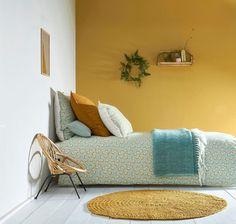 Trendy Home Bedroom Yellow 50 Ideas Kids Room Paint, Colorful Interiors, Home Bedroom, Bedroom Interior, Home Decor, Room Colors, Yellow Room, Yellow Bedroom Walls, Bedroom Vintage