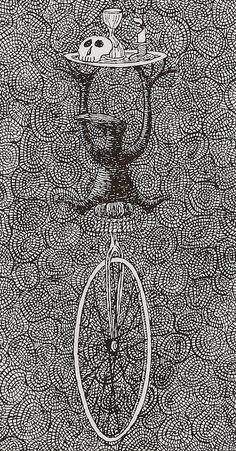 Edward Gorey's 'anxious, irritable' tarot card set is predictably perfect Edward Gorey, Illustrations, Illustration Art, Wells, Dangerous Minds, Tarot Card Decks, Up Book, Tarot Readers, Gothic Art