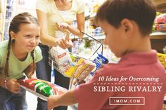 Recognize the three kinds of sibling rivalry.