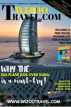 Why the Sea Plane ride over Dubai is a must-try! Holiday Packing Lists, Family Holiday Destinations, Packing List For Travel, Vacation Destinations, Budget Travel, Travel Tips, Dubai Travel, Asia Travel, Dubai Tourist Attractions