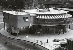 Bussterminal vid Norra Bantorget invigd 1938