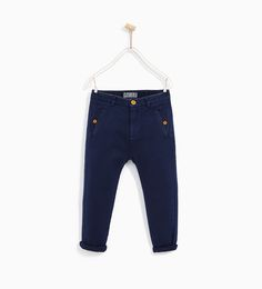 TEXTURED WEAVE COMFORT TROUSERS-TROUSERS-BOY | 4-14 years-KIDS-SALE | ZARA United States