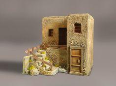 casa Dungeon Tiles, Fantasy House, Desert Homes, Tiny Dolls, Tenerife, Christmas Inspiration, Shadow Box, Game Art, Nativity