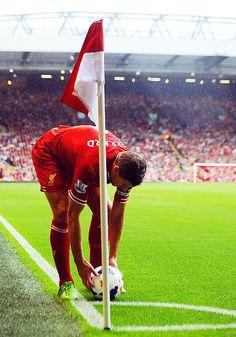 Steven Gerrard Last Corner for Liverpool is coming