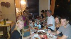 Cena di saluti offerta ai nostri ospiti!