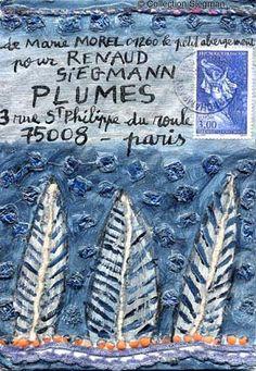 L'Art postal ou le Mail Art Mail Art, Going Postal, Envelope Art, Letter Art, Letter Writing, Snail Mail, Smash Book, Poster, Letters