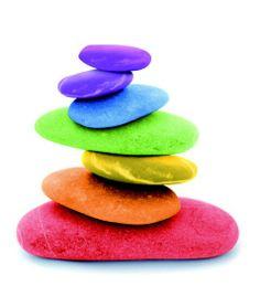 Stones in color