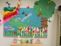 It's-Spring Bulletin Board