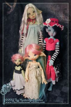 KW dolls with Willow