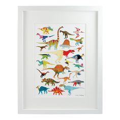 Dinosaurs Print   Chá com Letras   Wolf & Badger