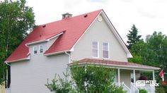Elegant, beautiful and incredibly efficient. Find out why so many happy homeowners chose Interlock as their next (AND LAST) roof. http://www.RoofReviews.com  http://interlock.bestroof.com/pinterest/ 1-866-733-5811  Metal Roof - Renovation - Home Improvement