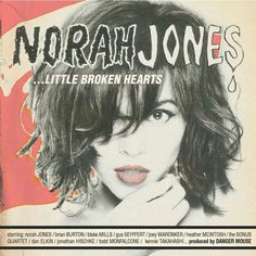 Just finished listening to Norah Jones' Little Broken Hearts and it sounds great. Danger Mouse did an amazing job producing this album and Norah Jones is Norah Jones. Norah Jones, The Black Keys, I Love Music, New Music, Amazing Music, Music Music, Latest Music, Musica Disco, Team Pictures