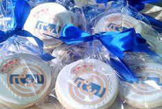 Galletas fondant Real Madrid Cookies fondant Real Madrid
