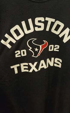 0a0e442d8 Houston Texans Nike Long Sleeve Shirt NFL T Shirt Logo Large Men  Nike   HoustonTexans