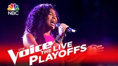 """The Voice 2016 Shalyah Fearing - Live Playoffs: """"Listen"""" 