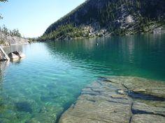 clear beauty, enchantments hike, washington