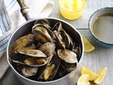New England Steamers Recipe : Food Network Kitchen : Food Network Clam Recipes, Fish Recipes, Seafood Recipes, Appetizer Recipes, Cooking Recipes, Healthy Recipes, Recipies, Healthy Options, Filipino Appetizers
