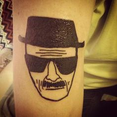Really Cool Walter White (Breaking Bad) Tattoos!