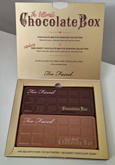 Too Faced Cosmetics Chocolate Palettes - Toronto Beauty Reviews