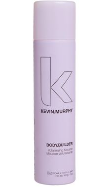 Kevin Murphy Body.Building- volumising mousse.     This will make you rethink everything you ever thought about mousse. amazing stuff.