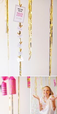 http://ruffledblog.com/new-years-eve-party/#respond    Glitter Clothes Pins for the  fridge or office