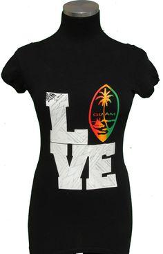 Island tat shirt GUAM