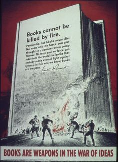 FDR: Books cannot be killed by fire.