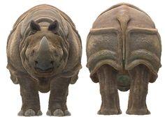 Rinoceronte de java http://www.pinterest.com/amamar62/rinocerontes/