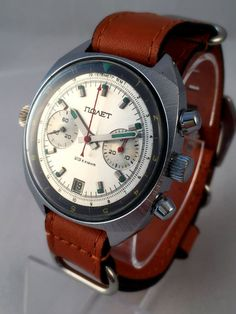 POLJOT CHRONOGRAPH Russian watch Vintage men's от SovietEmpire