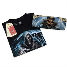 Metal Empire T-shirt 3D Print Novelty-Motor - FixShippingFee- - TopBuy.com.au