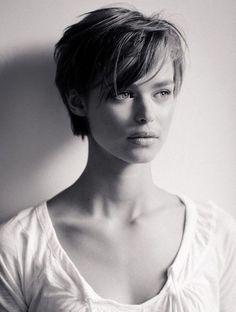 Les plus belles coupes courtes vues sur Pinterest Coupe cheveux courts