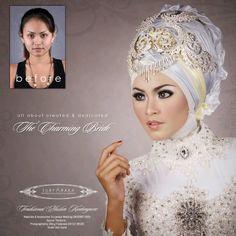wedding hijab