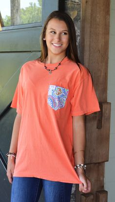 Greyson on Salmon #FraternityCollection www.fraternitycollection.com