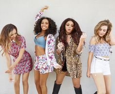 I like jade and Perrier outfits the best