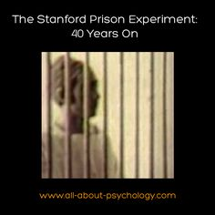 40 years on Philip Zimbardo and some of those who took part reflect on the in(famous) Stanford Prison Experiment. See following link. http://www.bbc.co.uk/news/world-us-canada-14561818