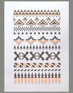 Tribal print sarah louise matthews