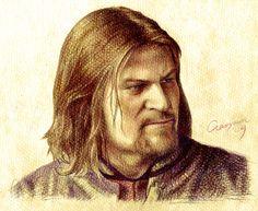 Boromir by ~howard-shore on deviantART ~ LOTR