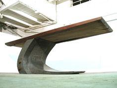 Polished Custom Concrete Table  ~ ACRUX™