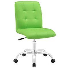 LexMod - Prim Armless Mid Back Office Chair