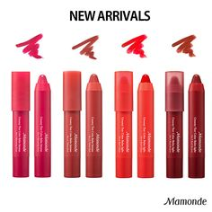NEW Arrivals MAMONDE Creamy Tint Color Balm Intense, Light Amore Pacific KBeauty #MAMONDE #tink #creamy # color balm #intense #amore #newarrivals #mamonde #kbeauty #cosmetics #amorepacific #lips #lipstick