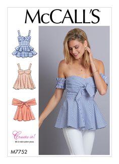 Mccalls Sewing Patterns, Vintage Sewing Patterns, Dress Patterns, Women's Clothing Patterns, Shirt Sewing Patterns, Shirt Patterns For Women, Beginner Sewing Patterns, Pattern Sewing, Fashion Sewing