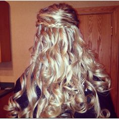 My hair for Prom:)
