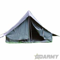 FRENCH ARMY CANVAS VINTAGE 2 MAN TENT