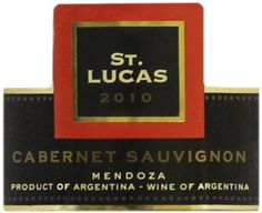 2012 St Lucas Cabernet Sauvignon Mendoza 750 mL ** Find out more about the great product at the image link.  This link participates in Amazon Service LLC Associates Program, a program designed to let participant earn advertising fees by advertising and linking to Amazon.com.