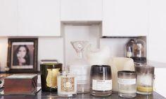 WSH loves Lara Melchior's vanity tablescape. Via Vogue France.