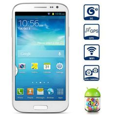 5.0 inch Dual Core Three SIM Dual Cameras Android 4.2 3G GPS Smart Phone  Price :$110.51 & Free Shipping